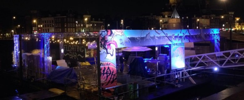 Tiger Beer Floating Bar